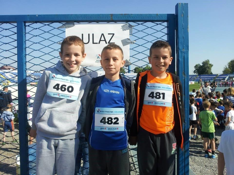 <p>Osječki stadion Gradski vrt bio je domaćin kvalifikacijskog natjecanja Erste Plave lige. Radi se o natjecanju u atletici za djecu od 3. do 6. razreda osnovnih škola čiji je organizator u Osijeku Atletski klub Slavonija-Žito.</p>