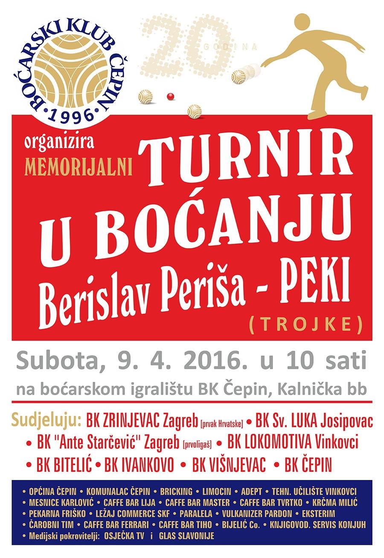 <p>Čepin nema često prigodu ugostiti u svojoj sredini nekog prvoligaša i prvaka države, ovaj put za to su zaslužni agilni članovi boćarskog kluba Čepin; u goste nam dolazi aktualni prvak hrvatske 'BOĆARSKI KLUB ZRINJEVAC'!</p>